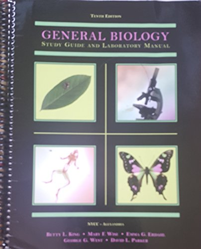 General Biology: Study Guide and Laboratory Manual