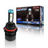 9007 Car LED Headlight Bulb Elite 36W 3800 Lumens 6000K Cool White IP21 Weather and Water Resistant with Quite Cyclone Active Heat Management System, DIY Installation -  Cyron Inc