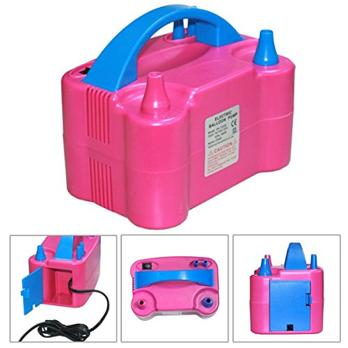Portable High Power Two Nozzle Color Air Blower Electric Balloon Inflator Pump Lightweight, portable outer (Party City Melbourne)