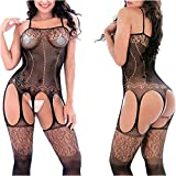 MyKiss Lingerie for Women Bodystockings Fishnet Clothes Underwear Babydoll Bodysuits