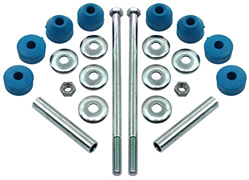 Greaseable Bolt Kit - ACDelco 45G0002 Professional Front Suspension Stabilizer Bar Link Kit with Hardware