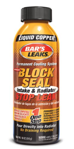 Bar's Leaks 1109 Block Seal Liquid Copper Intake and Radiator Stop Leak - 18 oz. (Water Leak Stop compare prices)