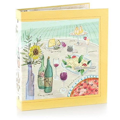 Hallmark Dolce Vita Recipe Card Organizer Binder
