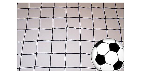 "25/' x 4/' Soccer Impact Volleyball Basketball Net Black Square 4/"" Mesh #36 Nylon"