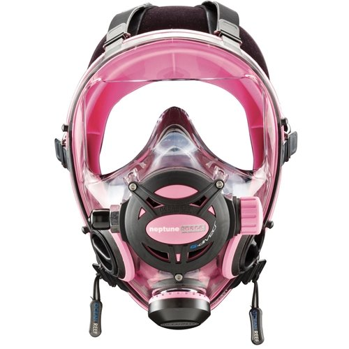 Ocean Reef Diving Mask Neptune Space G.divers OR025014 Pink S/M Small/Medium - Face Mask Full Space Neptune