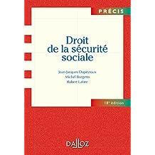 Droit de la sécurité sociale (Précis) (French Edition)