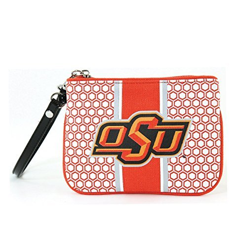 Oklahoma State University Patterned Hexagon Canvas (State University Ladies Purse)