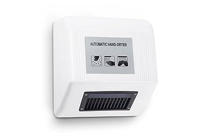 Secador de manos automático Kenley - Diseño moderno diseño delgado - 1800 W: Amazon.es: Bricolaje y herramientas
