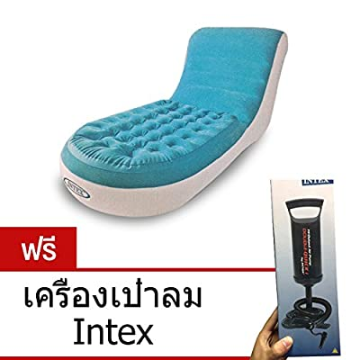 Intex inflatable sofa Splash Lounge - blue (free Intex blowers).