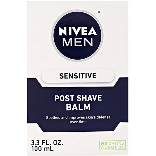 Post Shave Face Balm (NIVEA FOR MEN Sensitive Post Shave Balm 3.30 oz (Pack of 2))