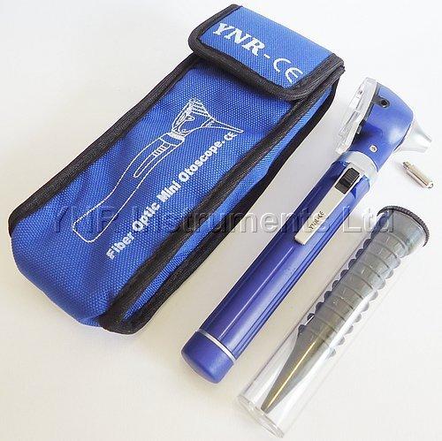 (YNR England CE Mini Otoscope Fiber Optic Medical Diagnostic Examination NHS CE Approved New (Blue))
