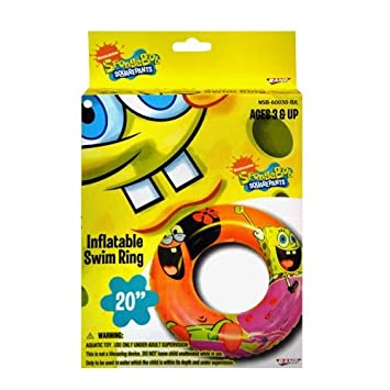 Amazon.com: Bob Esponja Hinchable flotador: Toys & Games