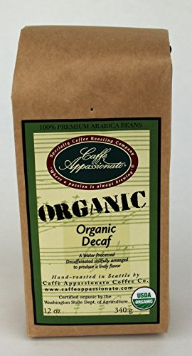 Caffe Appassionato Organic Ground 12 Ounce