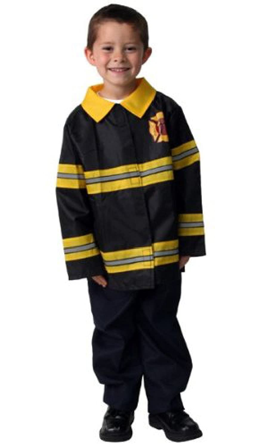 amazoncom fireman fire fighter dressup halloween costume choose size clothing - Fireman Halloween