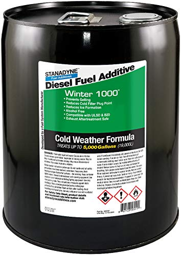 Stanadyne Winter 1000 5 Gallon Pail Treats 5,000 gallons diesel fuel per  Pail