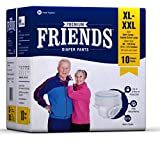 Friends Adult Pullups - Extra Large to Double Extra Large (XL-XXL)(10 Count)
