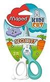 Maped 378146 Kidicut Safety Scissors with Fiberglass Blades, 12-Centimeter, Assorted Colours