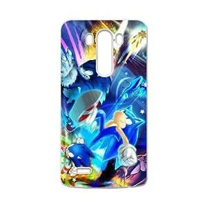 Sonic The Hedgehog Plastic LG G3 Case Shell Cover (Laser Technology)