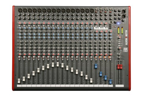Allen & Heath ZED-24 24-Channel Mixer with USB Interface