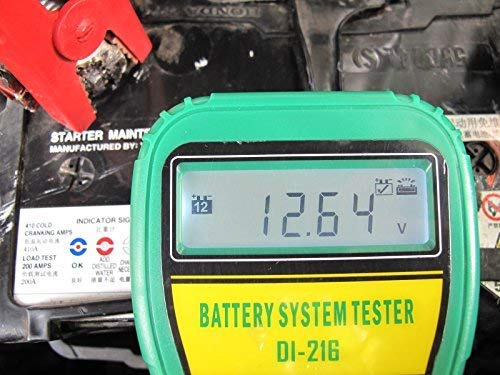 DLG DI-216 Automotive Battery Tester Vehicle Car Battery System Analyzer Diagnostic Tool by DLG (Image #2)
