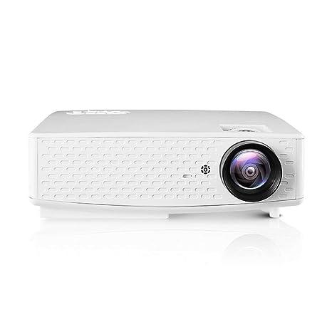 BESTSUGER Proyector de vídeo, proyector portátil HD WiFi Bluetooth ...