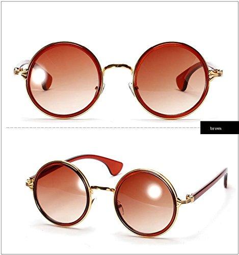 365Cor(TM)2014 Punk Big Circular Frames Sunglasses Women Metal Decoration Frame Circle Fashion Summer Sunglass Outdoor Eye Glasses Men5201