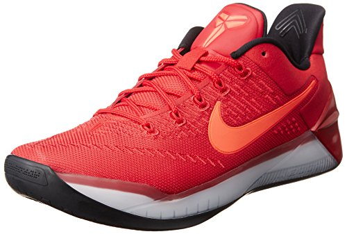 University Mens Basketball - NIKE Kobe A.D. Men's Basketball Shoes University Red/Black 852425-608 (11 D(M) US)