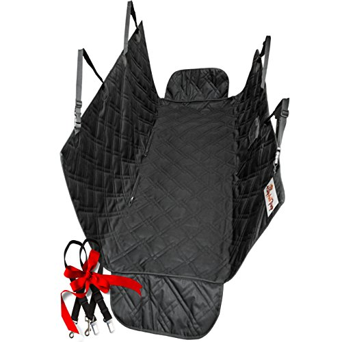 Water-proof Pet Car Seat Cover Dog Cat Puppy Seat Mat Blanket Black - 3