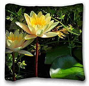 Custom Animal Custom Cotton & Polyester Soft Rectangle Pillow Case Cover 16x16 inches (One Side) suitable for King-bed