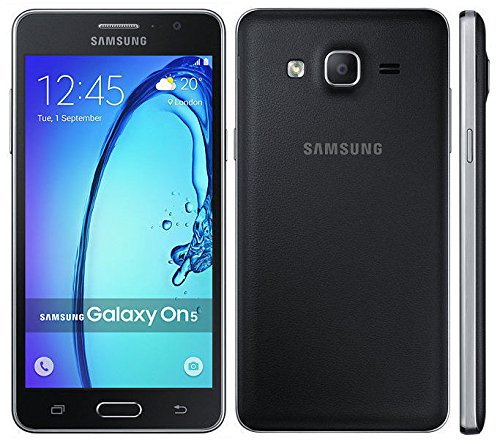 Samsung Galaxy G550T On5 GSM Unlocked 4G LTE Android Smartphone - Black - (NOT FOR Metro PCS) (Renewed)
