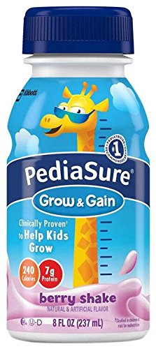 Pediasure Shake - Berry - 8 oz - 6 pk