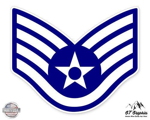 US Air Force E5 Staff Sergeant Rank -