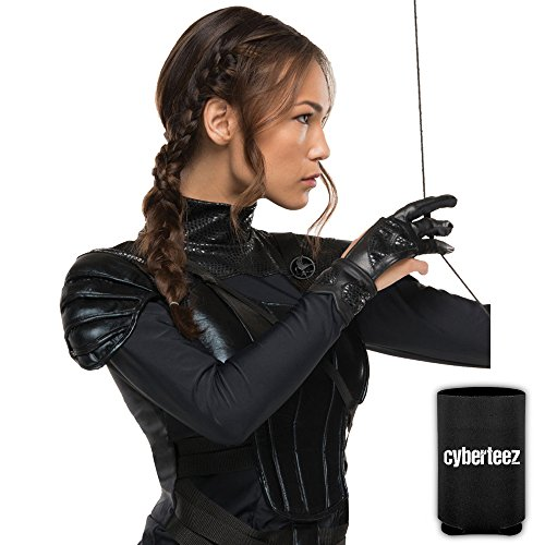 Katniss Everdeen Archer Bow Arrow Girls Hunger Games Mockingjay Costume Glove + Coolie ()