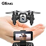 Toy, Play, Fun, Gteng T906W FPV mini drone with camera hd quadcopter rc helicopter selfie dron remote control toys quadrocopter multicopterChildren, Kids, Game