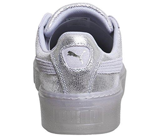 Puma Basket Platform NS Wns 36458701, Scarpe Sportive METALLIC