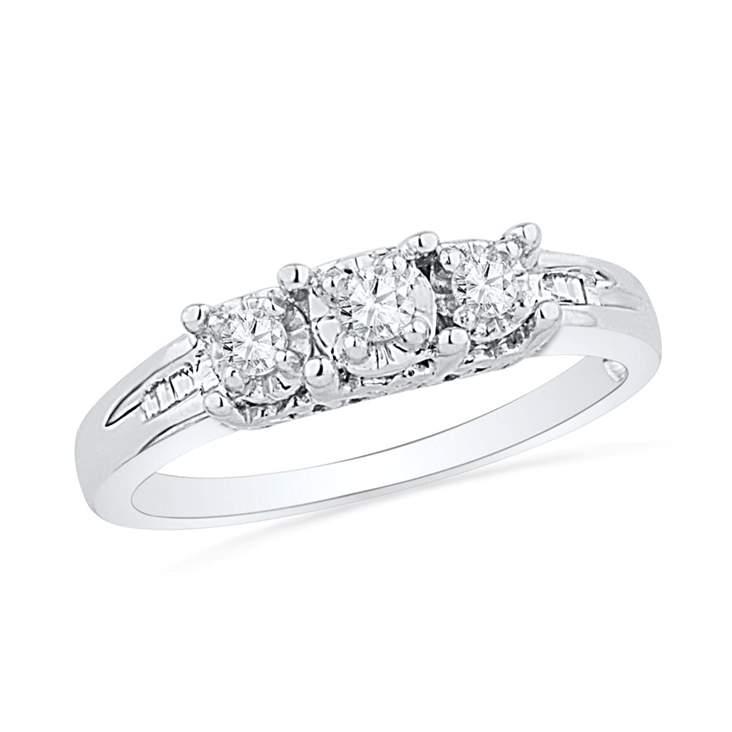cut k by engagement shank plain floating ring diamond diamonds round halo natalie rings product
