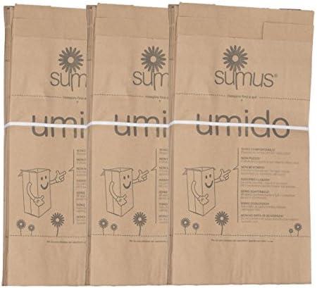 3 paquetes de bolsas de papel biodegradables y compostables (30 x ...