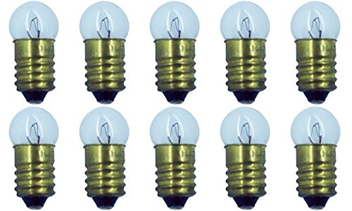 Box of 10 Lamp Bulb #1447 Lightbulb Lionel 18V NEW ()