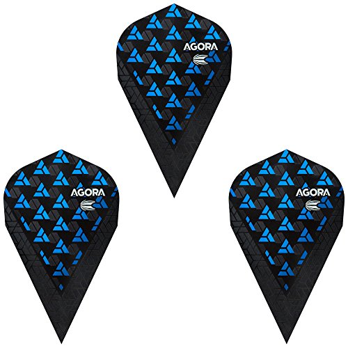 TARGET(ターゲット) VISION ULTRA GHOSTフライト AGORA(アゴラ) ヴェイパー ブルー <332630> (ダーツ フライト)の商品画像