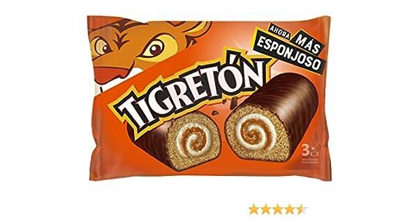 Bimbo Tigretón - 3 x 50 g, Total: 150 g: Amazon.es: Alimentación y ...