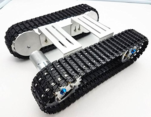CS PRIORITY Tracker Crawler Aluminium alloy Platform Damping balance Metal Tank Robot Chassis high power Spring Creative DIY crawler