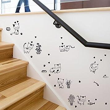 ALLDOLWEGE Einfache Und Moderne Wohnzimmer Schlafzimmer Mode Restaurant  Flur Treppen Wand Dekorationen Kreative Aufkleber Selbstklebende Tapete