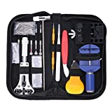 YESURPRISE Watch Repair Kits Wrist Watch Professional Tools Set Spring Bar Replacement Carry Case 147 PCS
