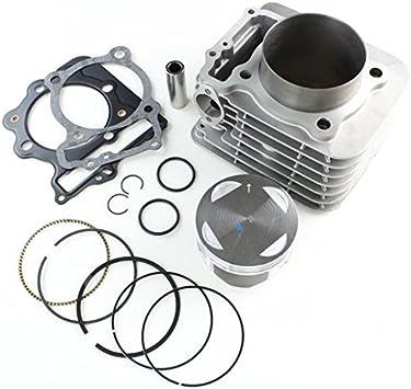 89mm 440cc Big Bore Cylinder Piston Gasket Kit For Honda Sportrax TRX400EX 99-08