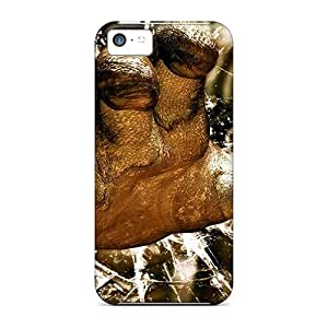 HeJ9375ThNx Tpu Phone Cases With Fashionable Look For Iphone 5c - 3d Hand