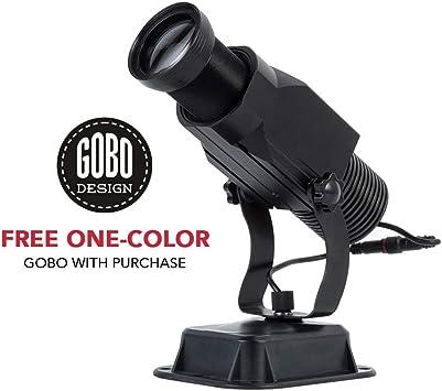 GOBO - Proyector de luz LED con zoom manual y enfoque ...