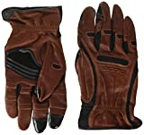 Bionic GDTN-M-P-BR-MD Men's Tough Pro with Natural Fit Premium Leather Glove, Medium, Brown