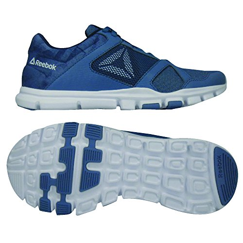 Collegiate Fitness Garçon MT Reebok de 10 Blue White Multicolore Trainette Navy Yourflex 000 Chaussures Slate xwqRxaP4