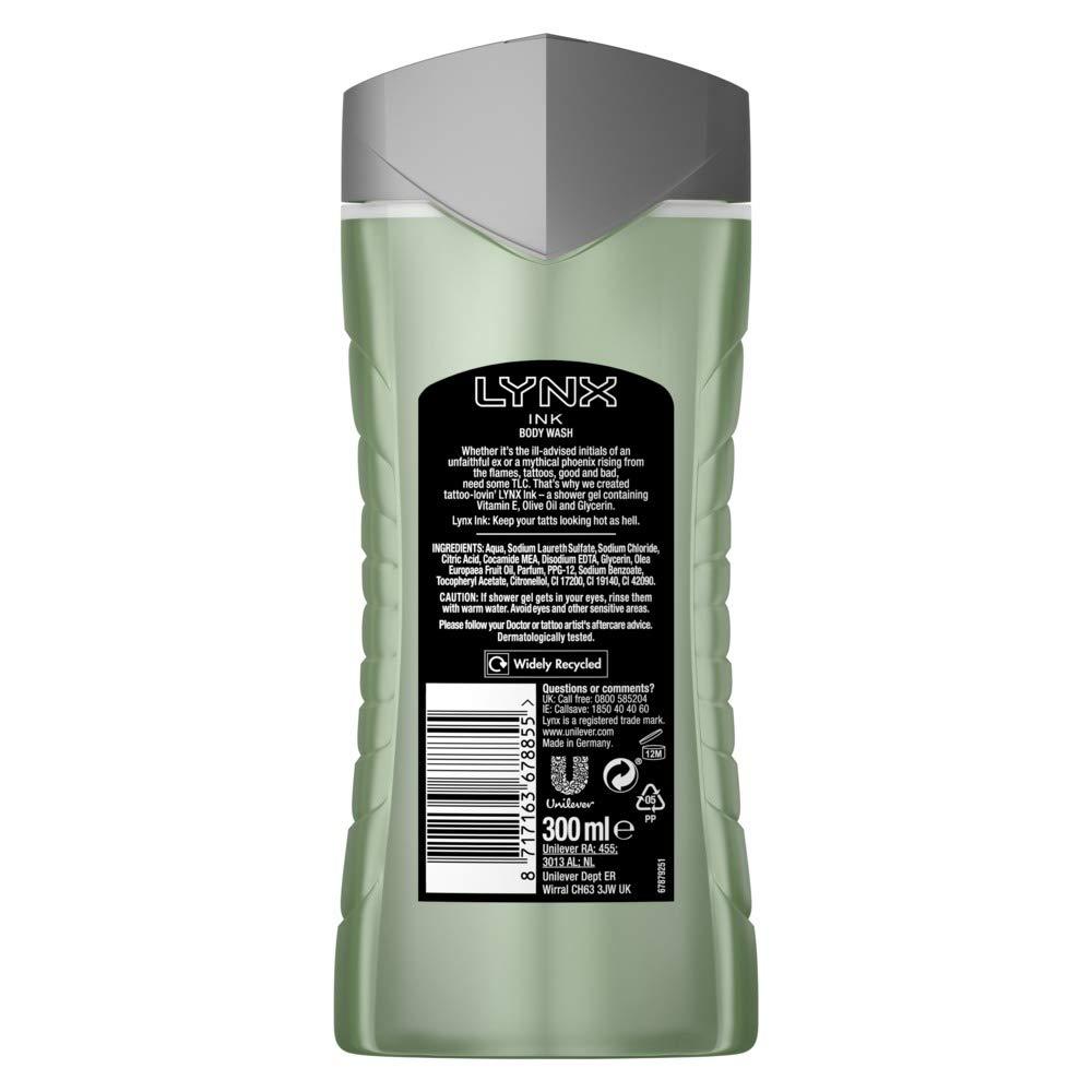 Sure Lynx - Gel de ducha (3,12 kg, 6 unidades): Amazon.es: Salud y ...