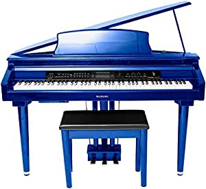 suzuki mdg 300 cobalt blue micro grand digital piano musical instruments. Black Bedroom Furniture Sets. Home Design Ideas